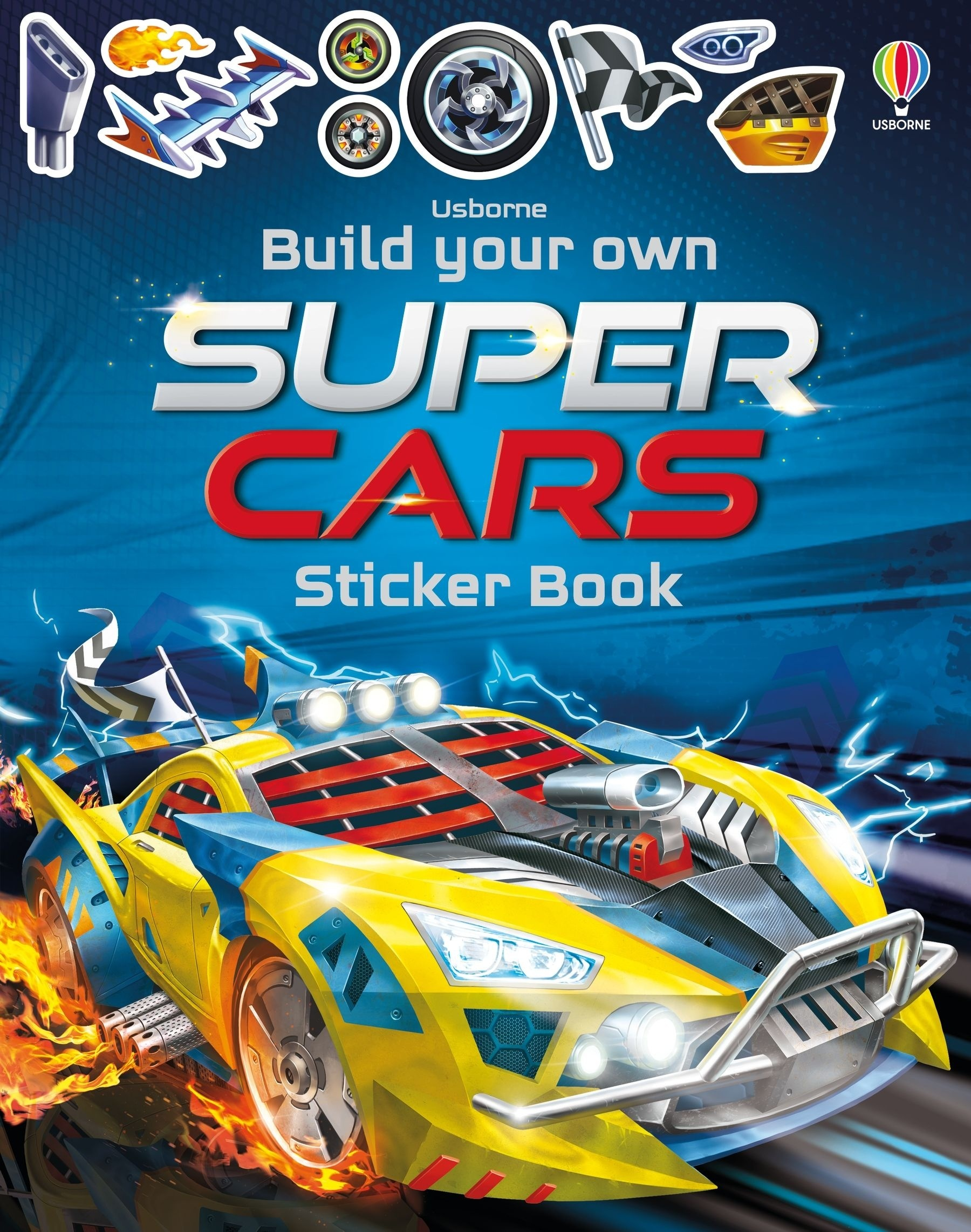 Build Your Own Supercars Sticker Book