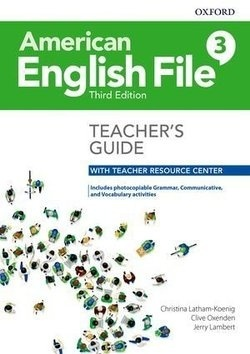 American English File (3rd Edition) 3 Teacher's Book