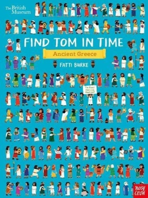 Find Tom in Time, Ancient Greece